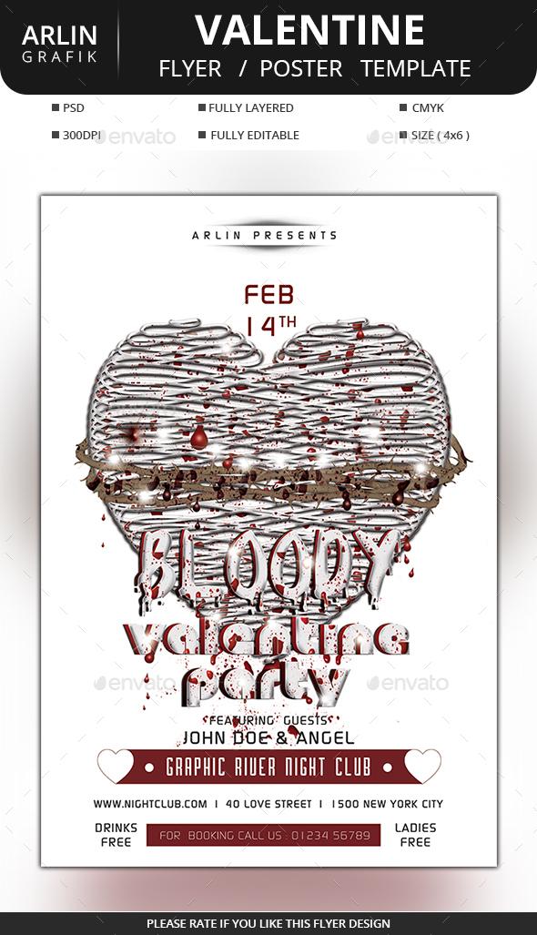Bloody Valentine Flyer
