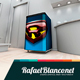 Appliance Small Fridge Surface Design Mock-Up - 1