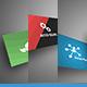 3 Clean & Modern Bussines Cards Mockup