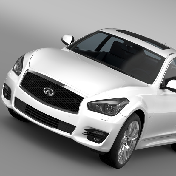 Infiniti Q70 3.7 (Y51) 2015 - 3DOcean Item for Sale