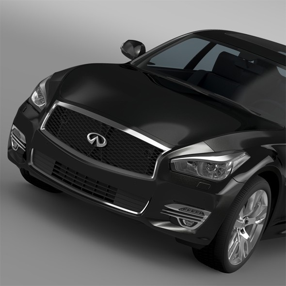 Infiniti Q70 5.6 (Y51) 2015 - 3DOcean Item for Sale