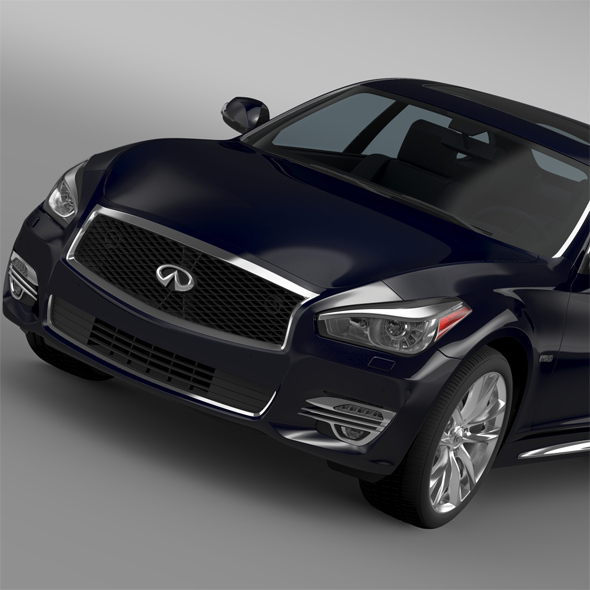 Infiniti Q70 Hybrid L (Y51) 2015 - 3DOcean Item for Sale