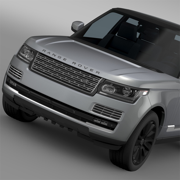 Range Rover SVAutobiography L405 2016 - 3DOcean Item for Sale
