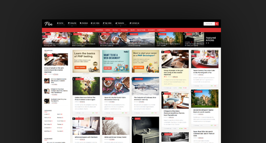Best Masonry Pinterest WordPress Themes