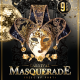 Carnival Masquerade Dress Up Party Flyer Template