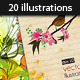 20 Vector Spring Illustrations - GraphicRiver Item for Sale