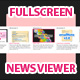Expanding Full Screen News Viewer - ActiveDen Item for Sale