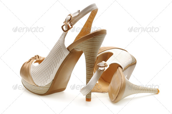 woman shoes - Stock Photo - Images