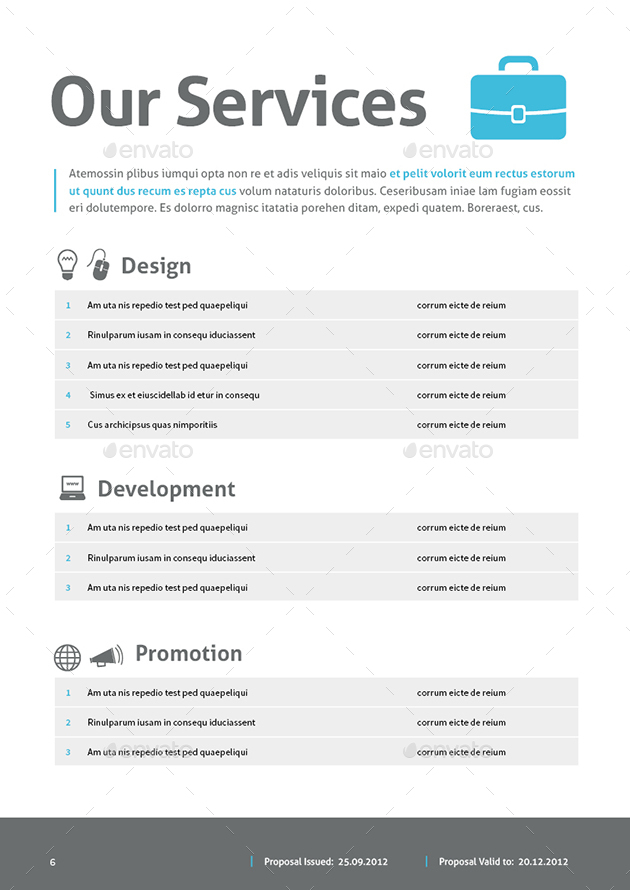 Web Design Proposal by MrTemplater | GraphicRiver