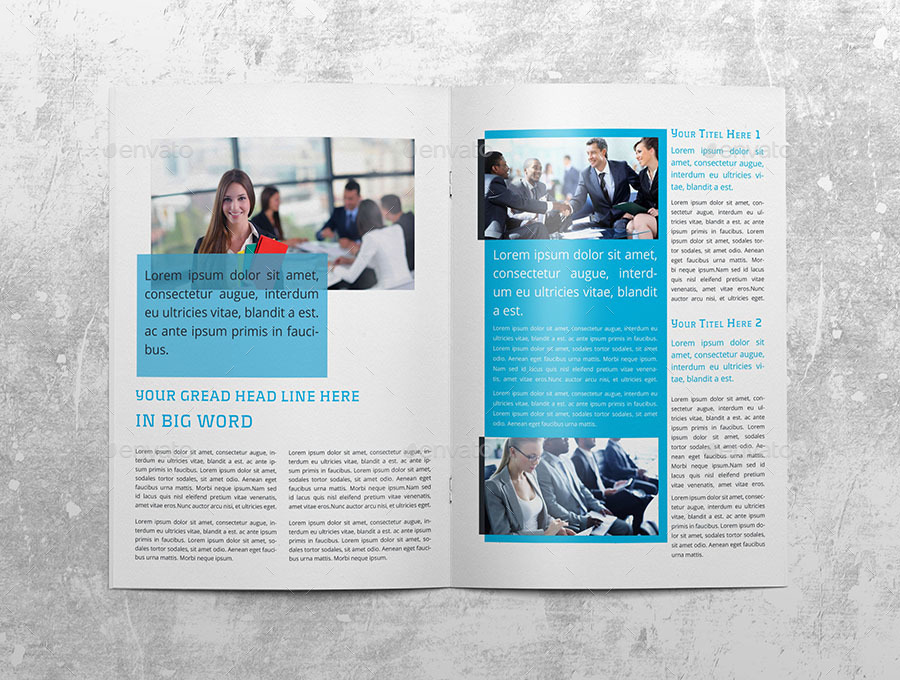 Business Newsletter Indesign Template by obayes – Indesign Newsletter
