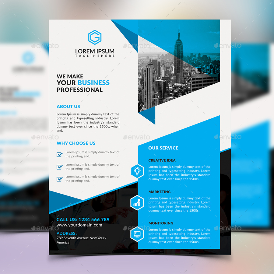 corporate flyer design by elite designer graphicriver corporate flyer design corporate flyers · 01 screenshot jpg