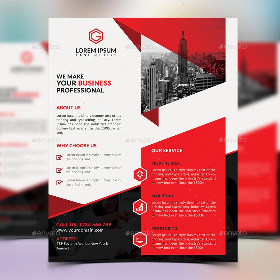corporate flyer design by elitedesigner graphicriver