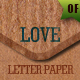 20 Valentine Letter Papers