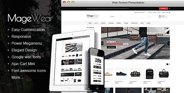 Magewear - Responsive OpenCart Theme