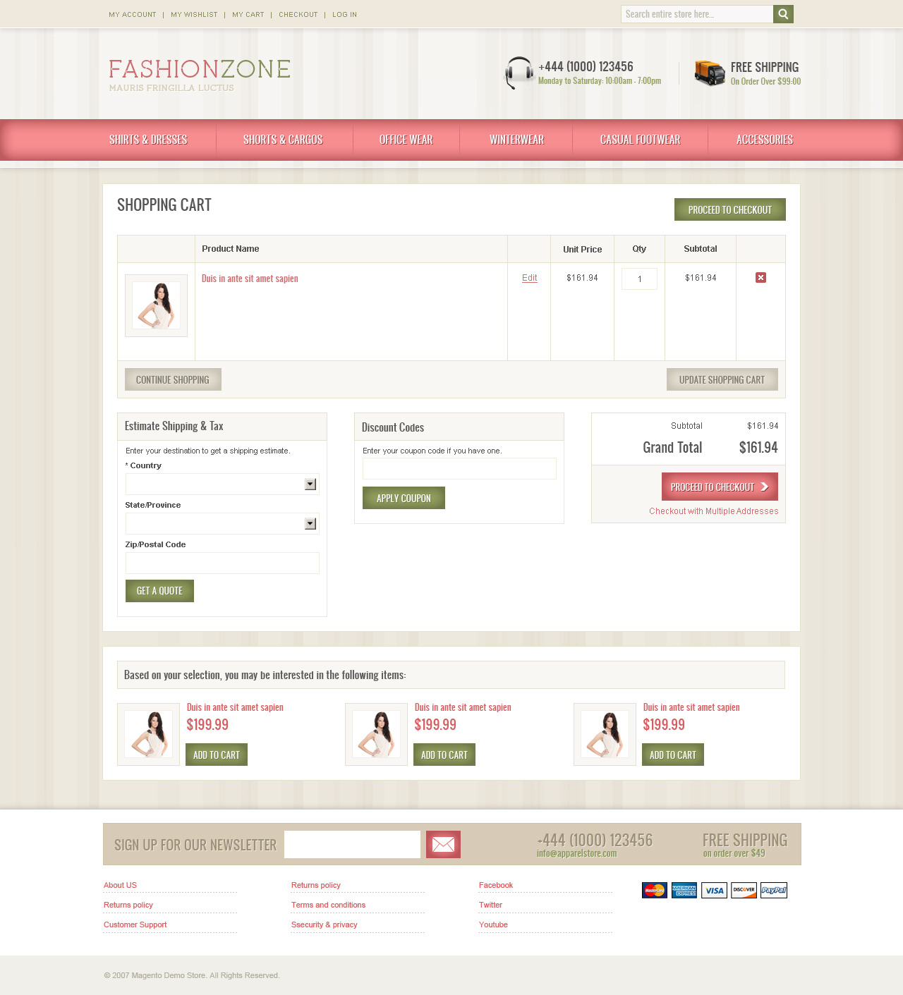 Fashion Zone Magento Theme