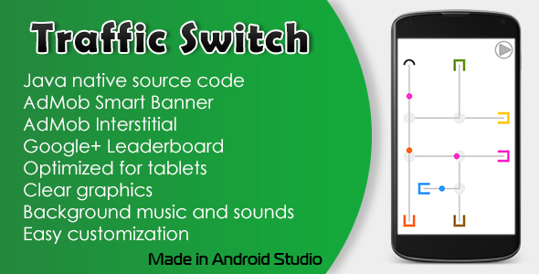 Traffic Switch with AdMob and Leaderboard - CodeCanyon Item for Sale