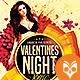 Valentines Night Special Flyer