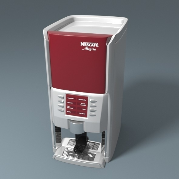Nescafe Alegria Coffee Machine - 3DOcean Item for Sale