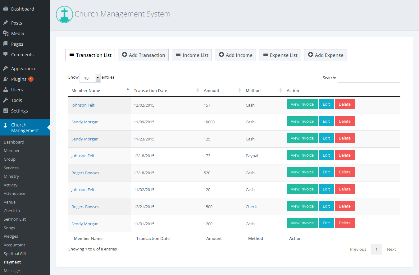 church management system Find the best church management software using real-time, up-to-date data from over 247 verified user reviews read unbiased insights, compare features.
