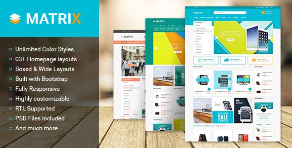 Matrix – Multipurpose Responsive Prestashop Theme (Shopping) Download