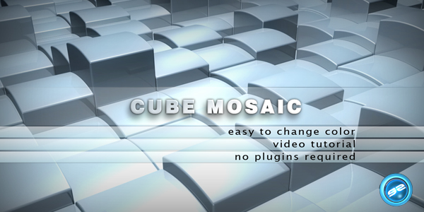 After Effects Project - VideoHive Cube Mosaic 170282