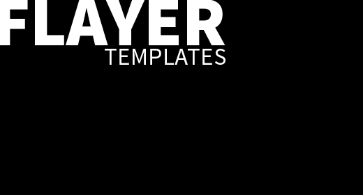 FLAYER TEMPLATES