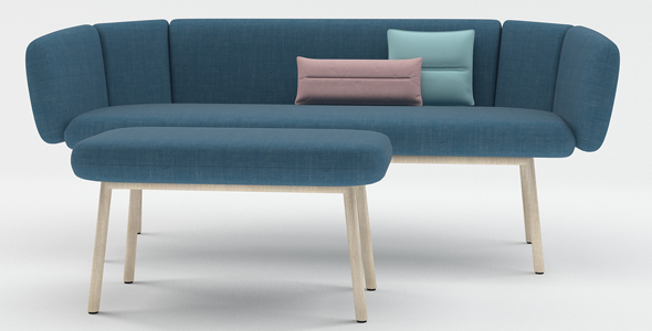 Bras sofa - 3DOcean Item for Sale