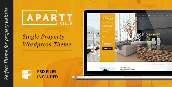 14 - APARTT VILLA - Single Property Real Estate WordPress Theme