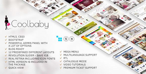 Coolbaby – CS-Cart theme (CS-Cart) Download