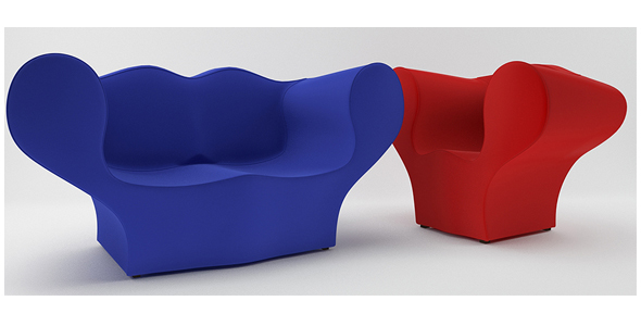 Moroso Double Soft Big Easy - 3DOcean Item for Sale