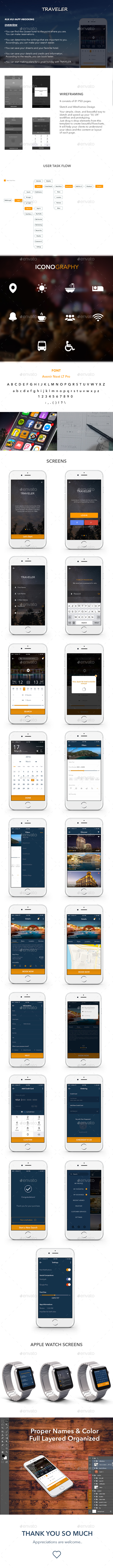 Booking Mobile App Ui (User Interfaces)
