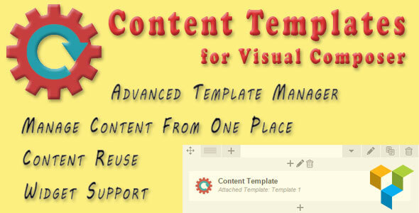 Content Templates for Visual Composer