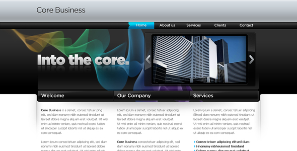 ThemeForest Business Template #04 56839