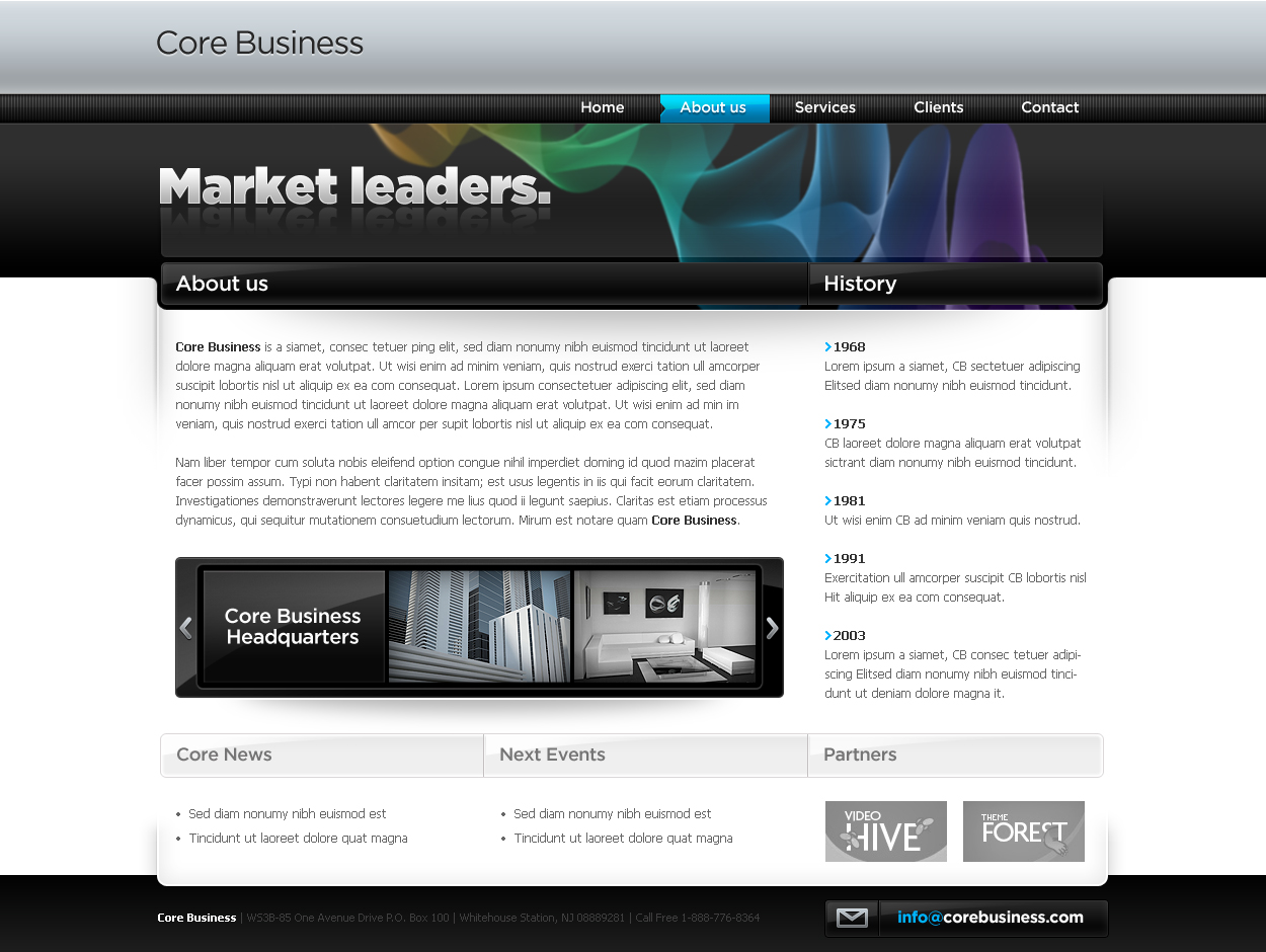 Business Template #04