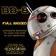 BB-8 Star Wars Droid Full Rigged