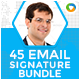 Email Signature Bundle - 45 Designs