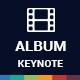 Album Keynote Presentation Template