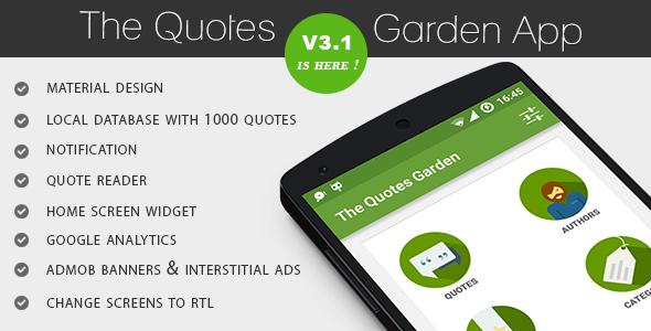 The Quotes Garden v3.1