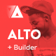 Alto - Modern Email Template + Builder 2.0