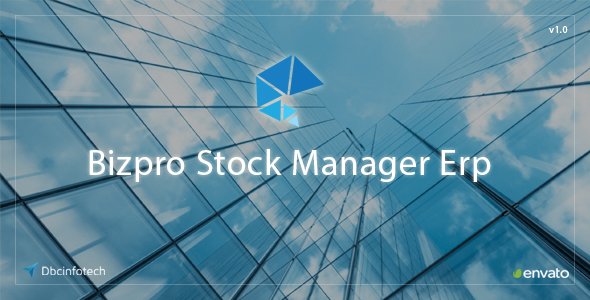 Bizpro Stock Manager Erp (Project Management Tools) Download