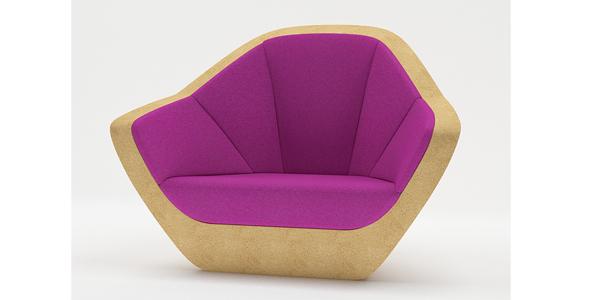 Corques Armchair - 3DOcean Item for Sale