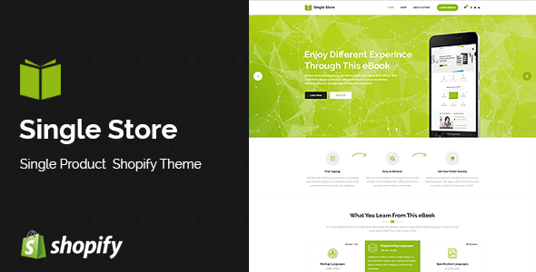 Single Store | Single Product Shopify Theme
