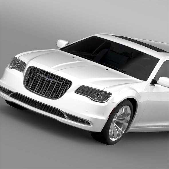 Chrysler 300C Platinum Limousine LX2 2016 - 3DOcean Item for Sale