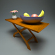 Wooden Coffe Table + Materials
