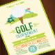 Golf Tournament Flyer Tamplate