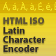 Html ISO Latin Character Encoder AS2 - ActiveDen Item for Sale