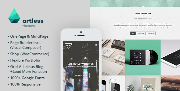 Hip - Creative OnePage / MultiPage Wordpress Theme