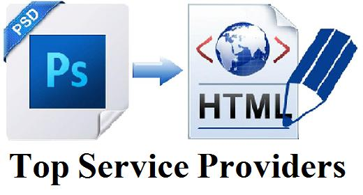 Avail PSD To HTML Conversion Services From Top Companies