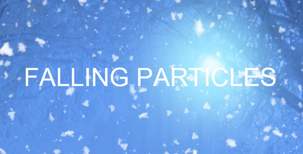 Falling Particles(Snow, Balloons and etc.)
