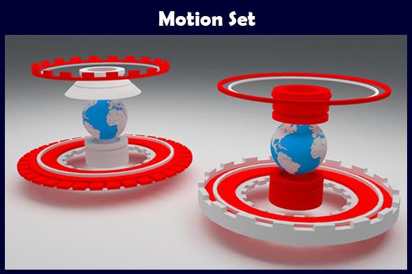 Motion Set - 3DOcean Item for Sale